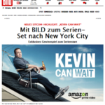 Kevin Can Wait Sony Germany New York Prize Promotion image with Bild Newspaper   Element - The Prize & Incentive People
